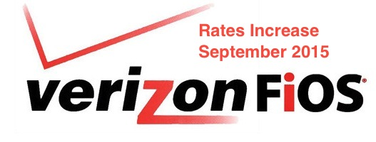 Fios rate increase