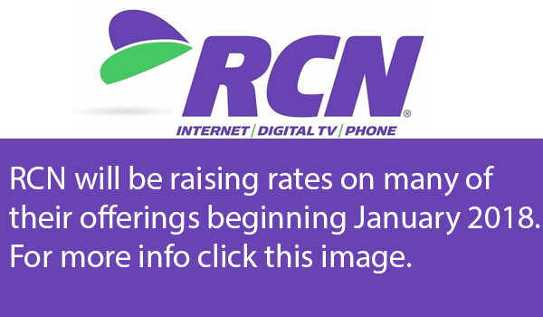 RCN Raising Rates 2018