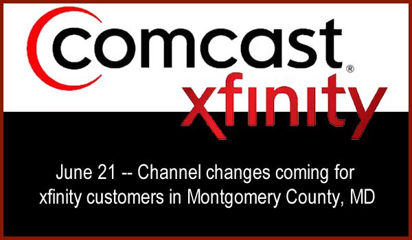 xfinity Channel Changes