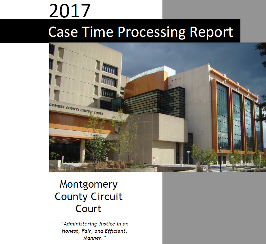 Cover page for FY2017 Case Processing Time Report