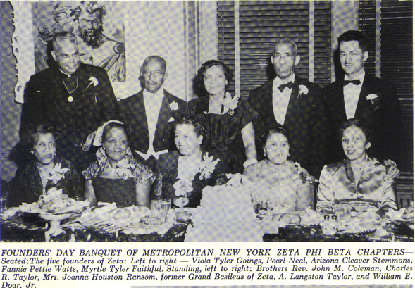 Zeta Phi Beta Founders' Dinner