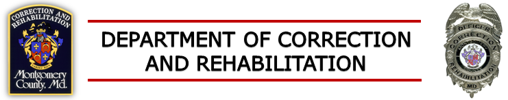 Department of Correction and Rehabilitation Banner.