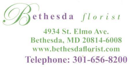 Bethesda Florist Info