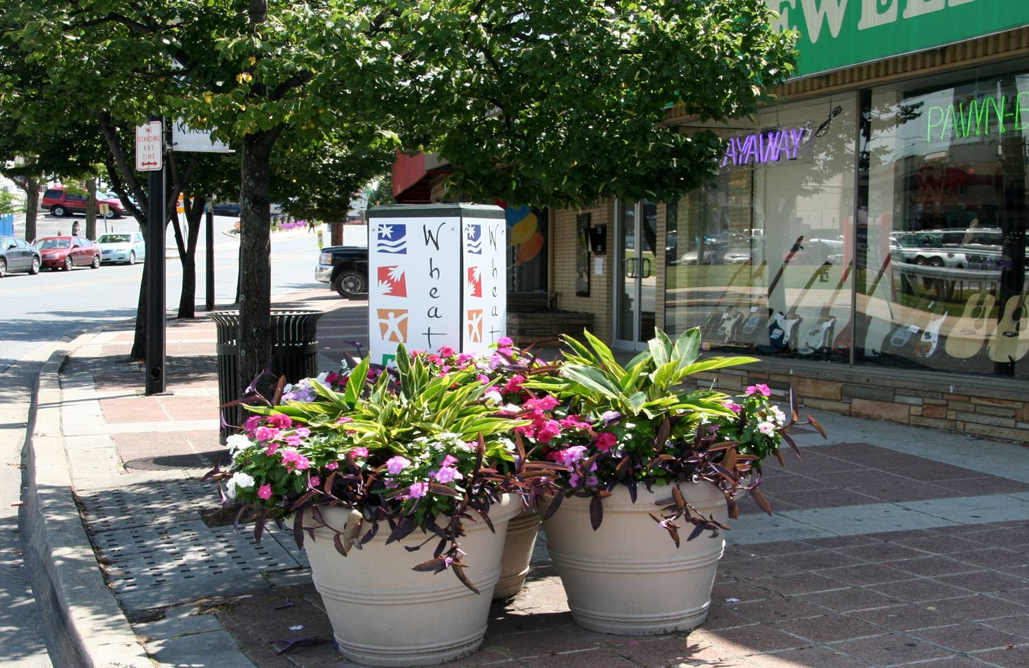 Wheaton Clean & Safe Planter Program