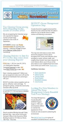 November News for AAR
