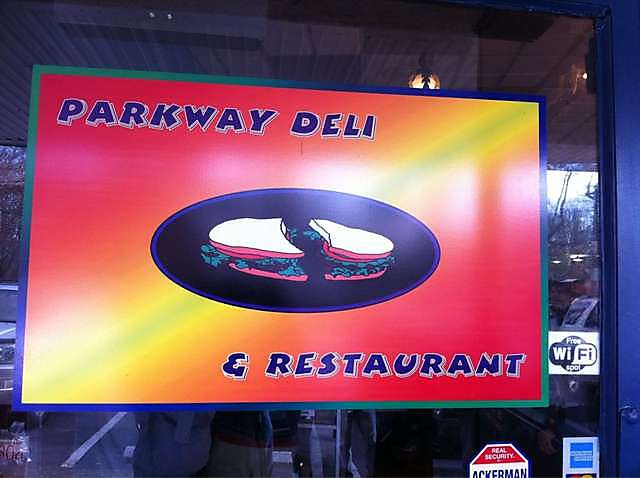 Front of Parkway Deli