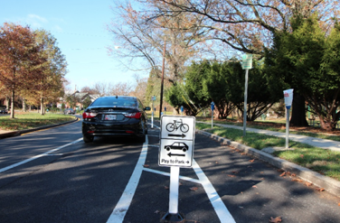 Image of Parking by a Bike Lane