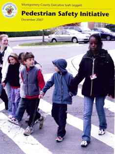 cover of pedestrian safety initiatives