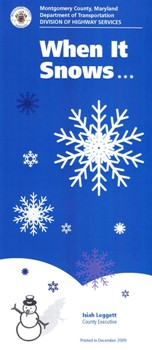 cover of When It Snows