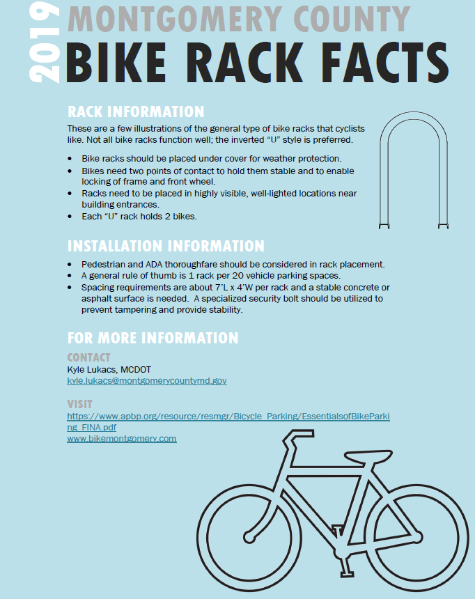 Bicycle Racks Info