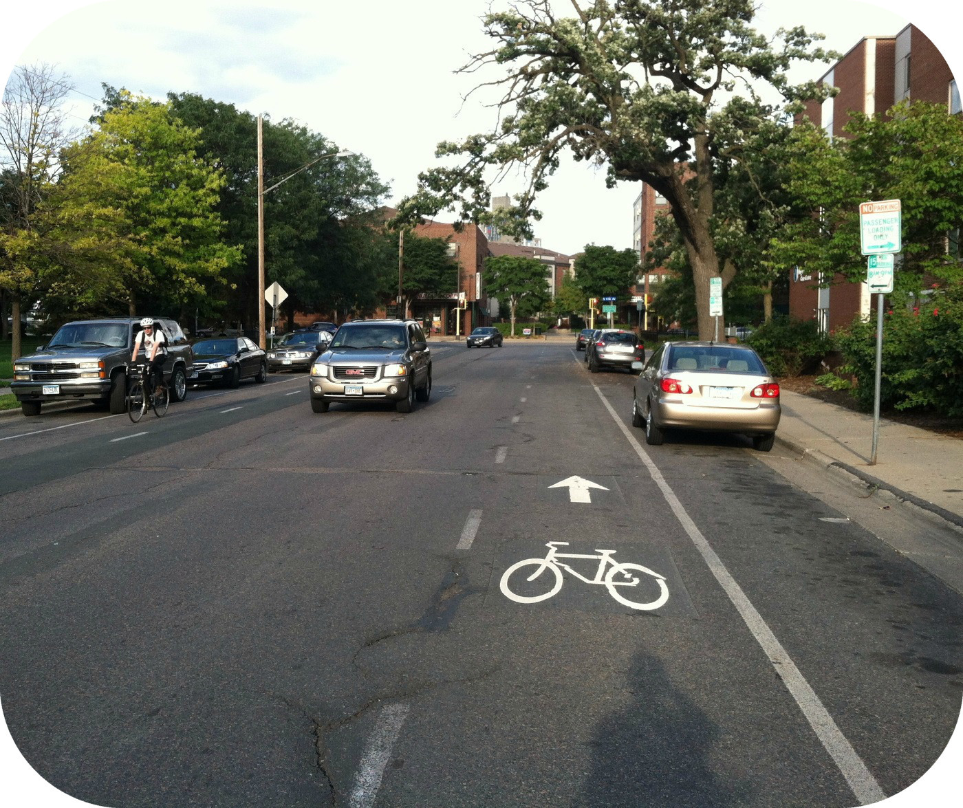 Advisory Bicycle Lanes
