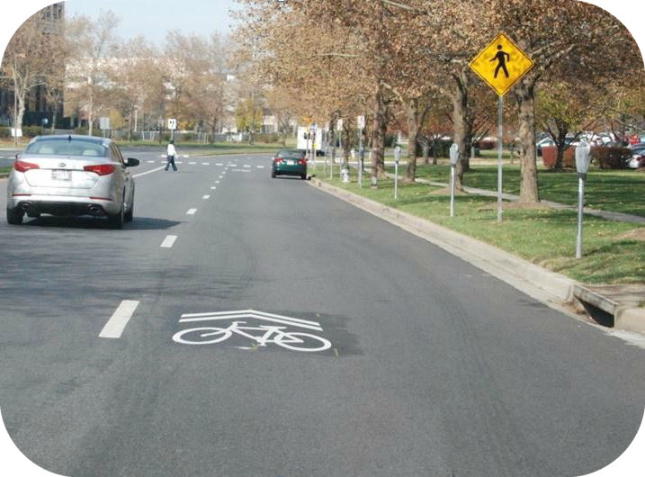 "Shared-Lane Marking (""Sharrow"")"