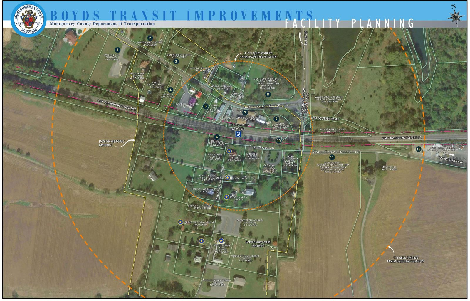 Boyds Transit Improvements