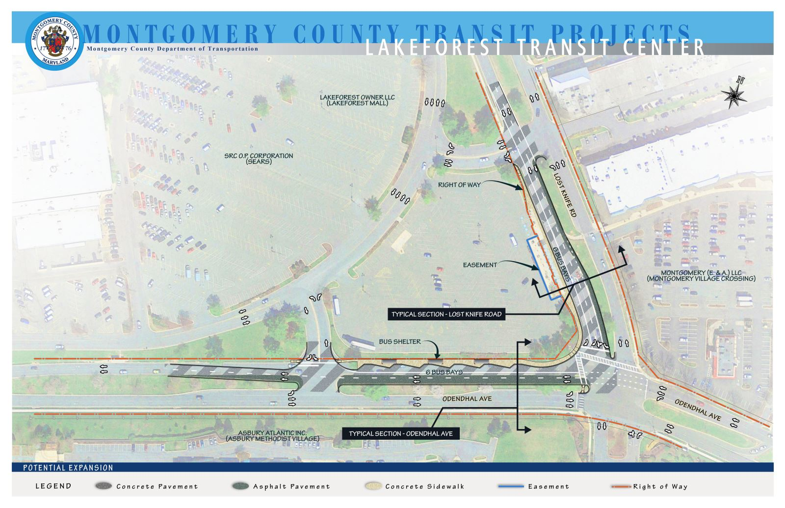 Lakeforest Transit Center Expansion Feasibility Study Report
