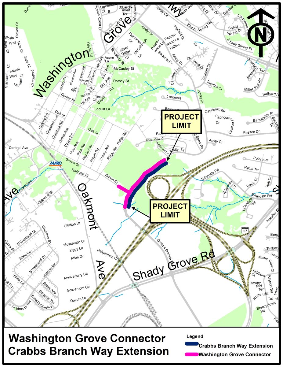 Washington Grove Connector