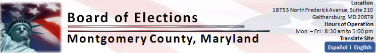 Montgomery County Board of Elections