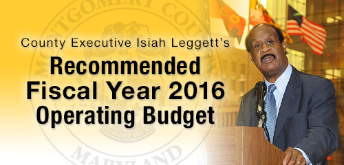 Recommended FY2016 Operating Budget