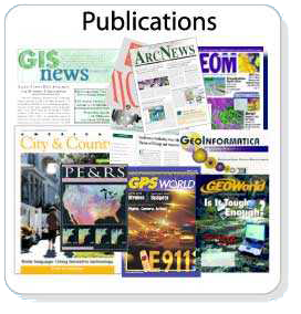 An image showing GIS publications