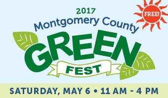The Montgomery County GreenFest is Saturday, May 6th
