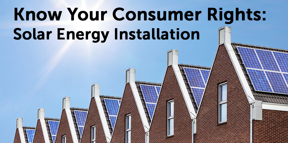 Know Your Consumer Rights on Solar Energy