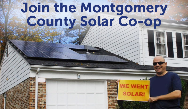 Join the Montgomery County Solar Co-op