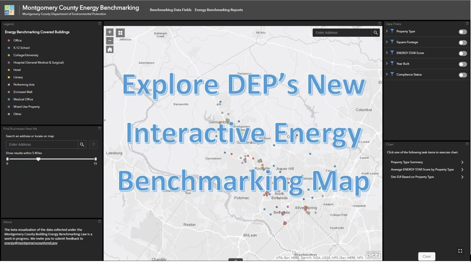 Explore DEP's New Interactive Energy Benchmarking Map