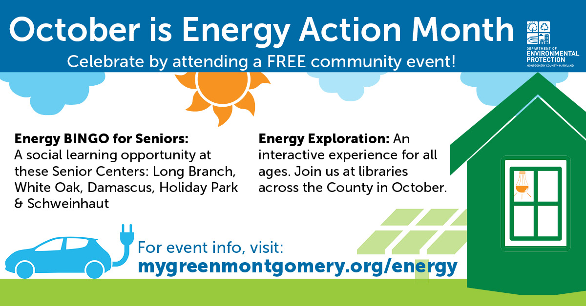 October is Energy Action Month!