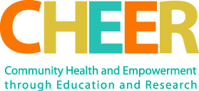 Community Health Empowerment (CHEER) logo