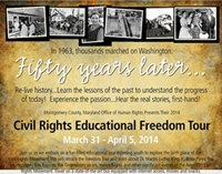 2014 Civil Rights Educational Freedom Tour