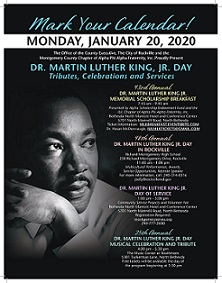 2020 MLK Celebration and Tribute
