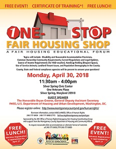 2018 One Stop Fair Housing Shop