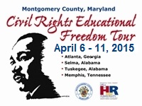 2015 Civil Rights Educational Freedom Tour