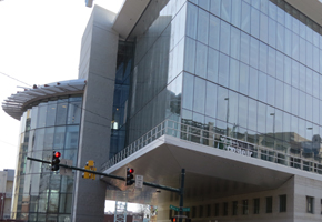 Exterior of Silver Spring Library.