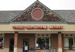 Maggie Nightingale (Poolesville) Library front
