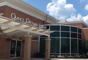 Quince Orchard Library front