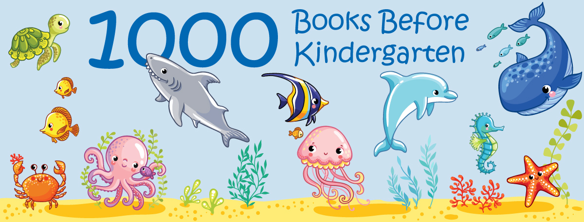1001 books before kindergarten illustration
