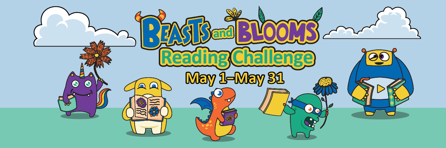 beast and blooms reading challenge