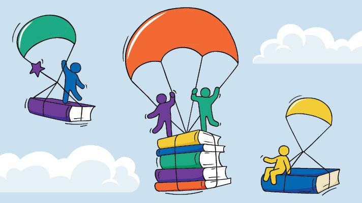 books parachuting