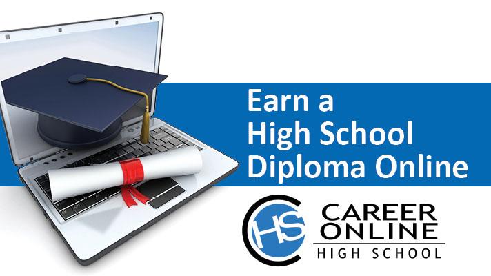 diploma, computer, and cap
