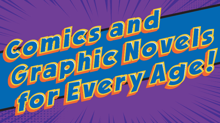 sign reading comics and graphic novels for every age