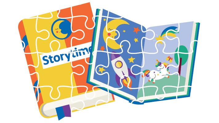 sensory friendly storytime notice