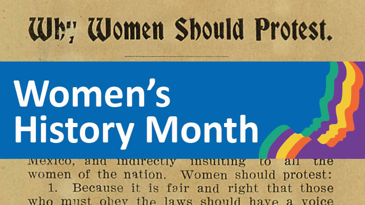 women's history month montage