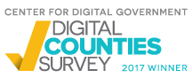 logo of digital counties survey winner