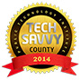 logo of tech savvy county 2014