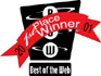 Best of the Web Award logo. See copy at right