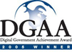 logo of Digital Government Achievement Awards