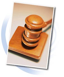 County Charter - a Gavel image.