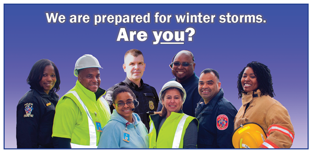 We are prepared for winter storms, are you?