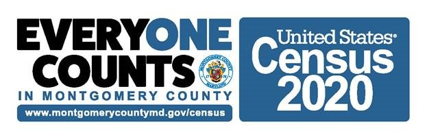Census 2020 Montgomery County logo
