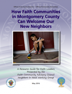 Cover of How Faith Communities Can Welcome New Neighbors Resource Guide